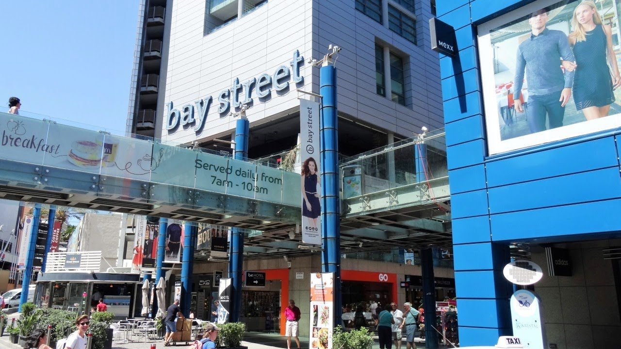 Bay Street Shopping Complex